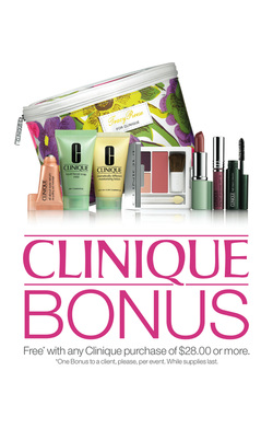 Clinique Bonus Time and Mascara Madness @Nordstrom